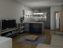 Interiér bytu – Praha